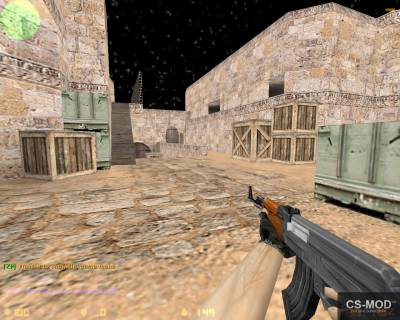 Карта «zm_dust2_2x2» для CS 1.6