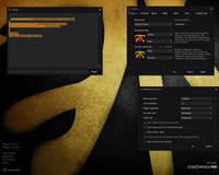 Тема меню «Fnatic» для CS 1.6